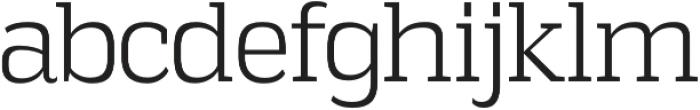 Vectipede Light otf (300) Font LOWERCASE