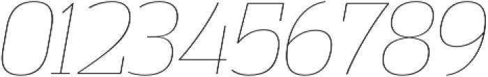 Vectipede UltraLight Italic otf (300) Font OTHER CHARS