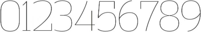 Vectipede UltraLight otf (300) Font OTHER CHARS