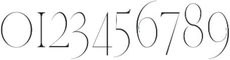 Veera Thin otf (100) Font OTHER CHARS