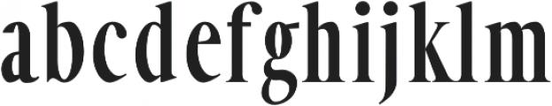 Veera otf (700) Font LOWERCASE