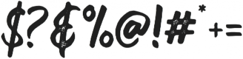 Velcro Textured otf (400) Font OTHER CHARS