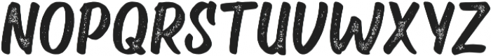 Velcro Textured otf (400) Font UPPERCASE