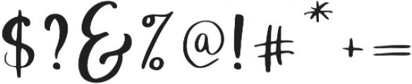 Velvet Line otf (400) Font OTHER CHARS
