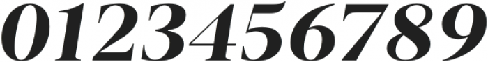 Vendura Bold Italic otf (700) Font OTHER CHARS