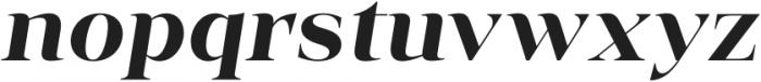 Vendura Bold Italic otf (700) Font LOWERCASE