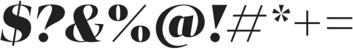 Vendura Heavy Italic otf (800) Font OTHER CHARS