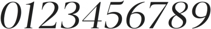 Vendura Light Italic otf (300) Font OTHER CHARS