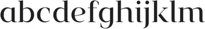 Vendura Regular otf (400) Font LOWERCASE