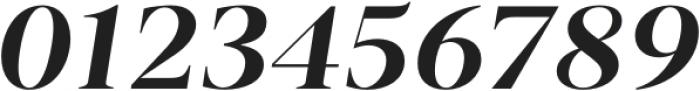 Vendura SemiBold Italic otf (600) Font OTHER CHARS