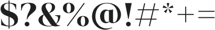Vendura SemiBold otf (600) Font OTHER CHARS