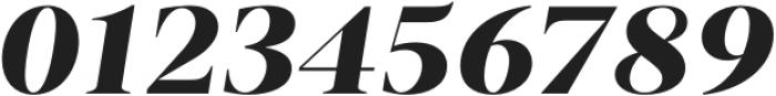 Vendura UltraBold Italic otf (700) Font OTHER CHARS