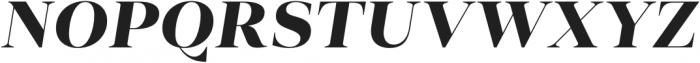 Vendura UltraBold Italic otf (700) Font UPPERCASE