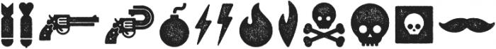 Veneer Extras otf (400) Font LOWERCASE