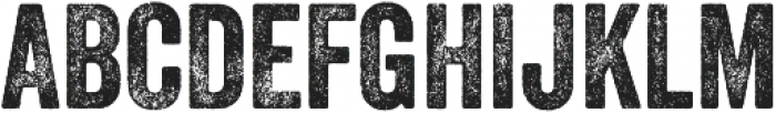 Veneer Two otf (400) Font UPPERCASE