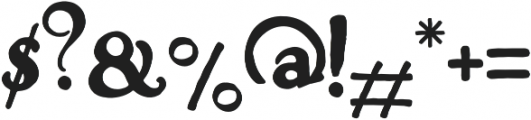Venetia Regular otf (400) Font OTHER CHARS