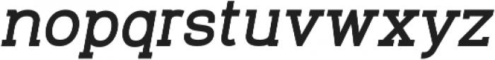 Venice Serif Bold Italic otf (700) Font LOWERCASE