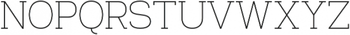 Venice Serif Light otf (300) Font UPPERCASE