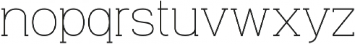 Venice Serif Light otf (300) Font LOWERCASE