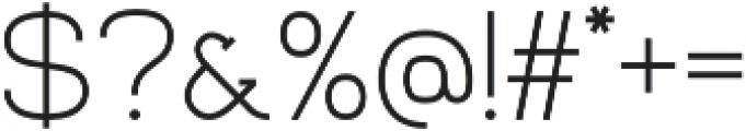 Venice Serif otf (400) Font OTHER CHARS