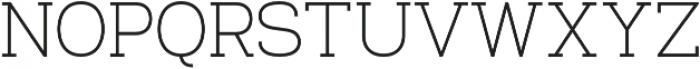 Venice Serif otf (400) Font UPPERCASE