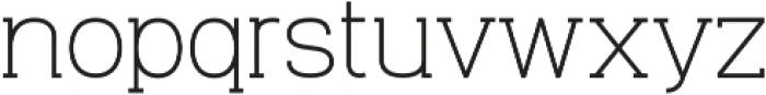 Venice Serif otf (400) Font LOWERCASE