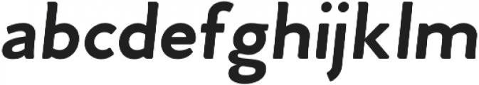 Venti CF Bold Oblique otf (700) Font LOWERCASE