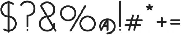 Venzel-bold otf (700) Font OTHER CHARS