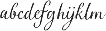 Verao Halftone Regular otf (400) Font LOWERCASE