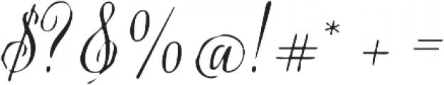 Verao Jean Regular otf (400) Font OTHER CHARS