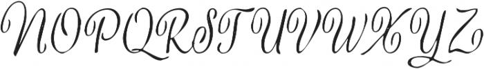 Verao Jean Regular otf (400) Font UPPERCASE