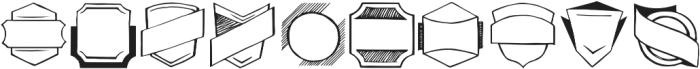 Verao Ornaments Regular otf (400) Font OTHER CHARS