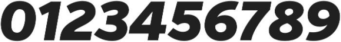 Verb Black Italic otf (900) Font OTHER CHARS