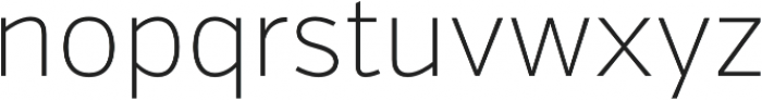 Verb Extralight otf (200) Font LOWERCASE