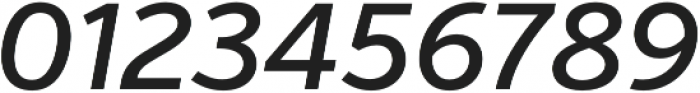 Verb Medium Italic otf (500) Font OTHER CHARS