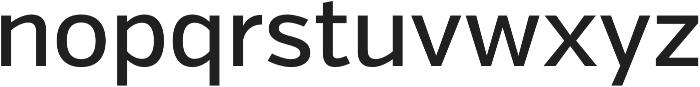 Verb Medium otf (500) Font LOWERCASE