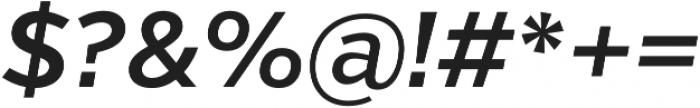 Verb Semibold Italic otf (600) Font OTHER CHARS