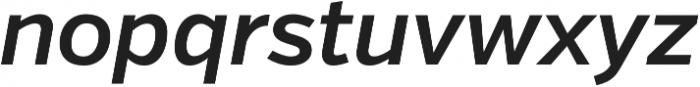 Verb Semibold Italic otf (600) Font LOWERCASE