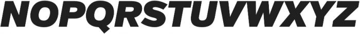 Verb Ultra Italic otf (900) Font UPPERCASE