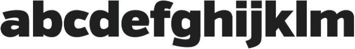 Verb Ultra otf (900) Font LOWERCASE
