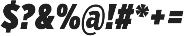 VerbComp Ultra Italic otf (900) Font OTHER CHARS