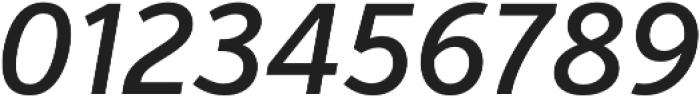 VerbCond Medium Italic otf (500) Font OTHER CHARS