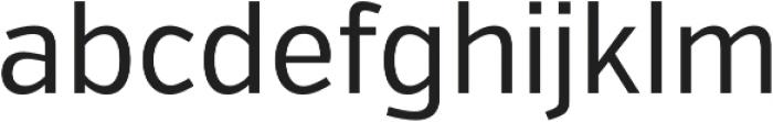 VerbCond Regular otf (400) Font LOWERCASE