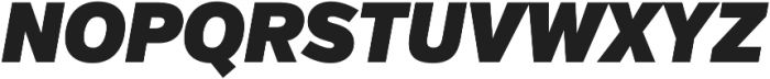 VerbCond Ultra Italic otf (900) Font UPPERCASE
