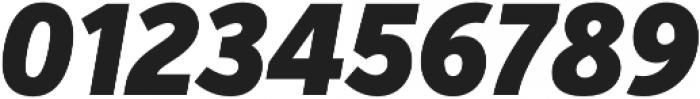 VerbExCond Black Italic otf (900) Font OTHER CHARS