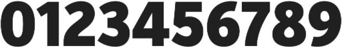 VerbExCond Black otf (900) Font OTHER CHARS