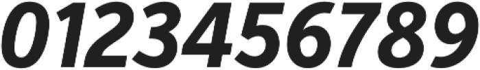 VerbExCond Bold Italic otf (700) Font OTHER CHARS