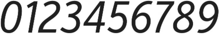 VerbExCond Regular Italic otf (400) Font OTHER CHARS