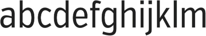 VerbExCond Regular otf (400) Font LOWERCASE
