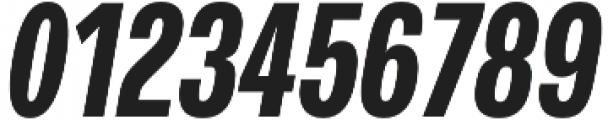 Verbatim Lite Condensed Bold Oblique otf (700) Font OTHER CHARS